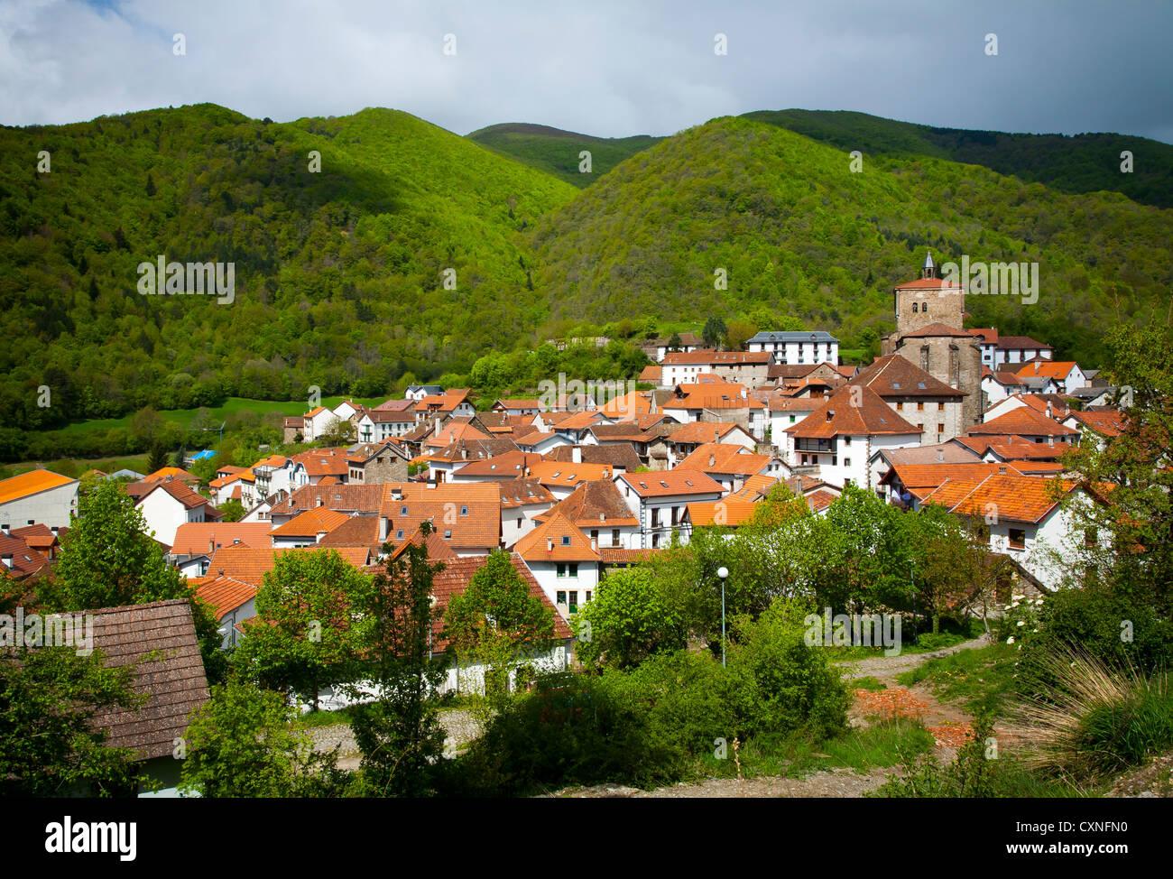 Isaba Roncal Valley Navarre Spain Stock Photo 50875132
