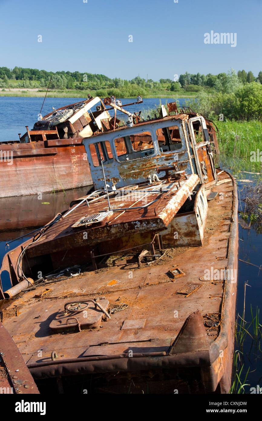 Chernobyl recovery equipment - Stock Image