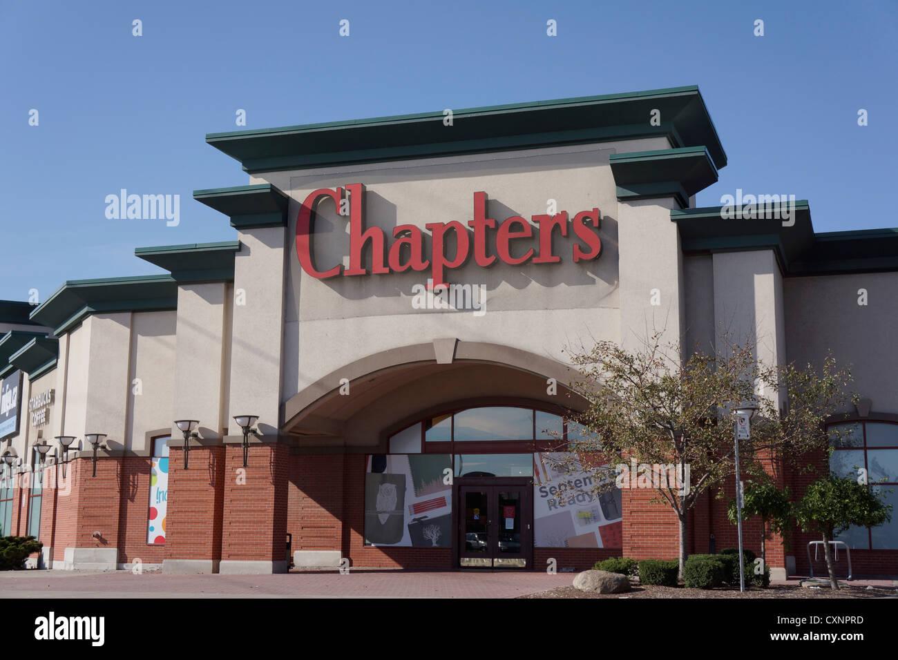 Chapters, Indigo Bookstore - Stock Image