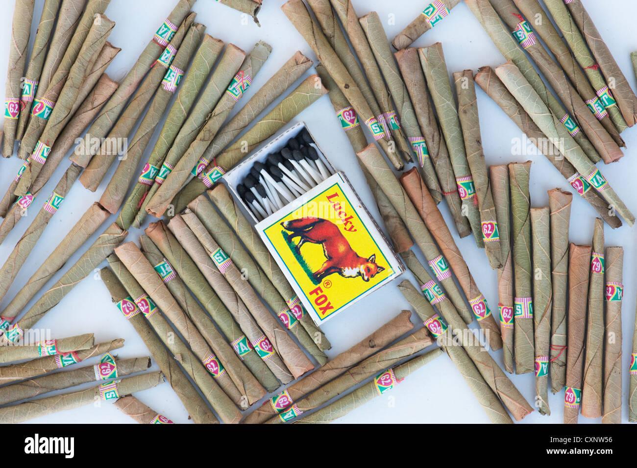 Smoking Beedi Stock Photos & Smoking Beedi Stock Images