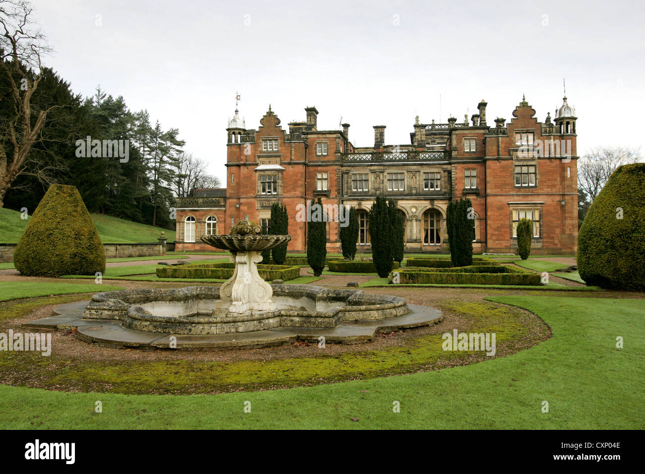 Keele Hall Is A 19th Century Mansion House At Keele Staffordshire England Now Standing On The Campus Of Keele University