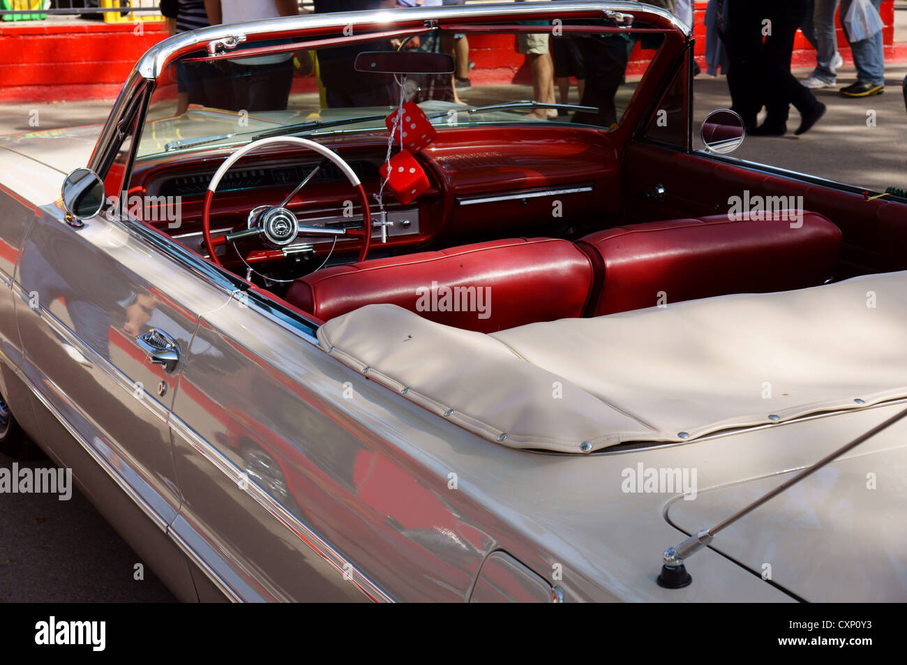Classic Car Show 1964 Chevrolet Impala Chevy New Mexico State Fair Stock Photo Alamy