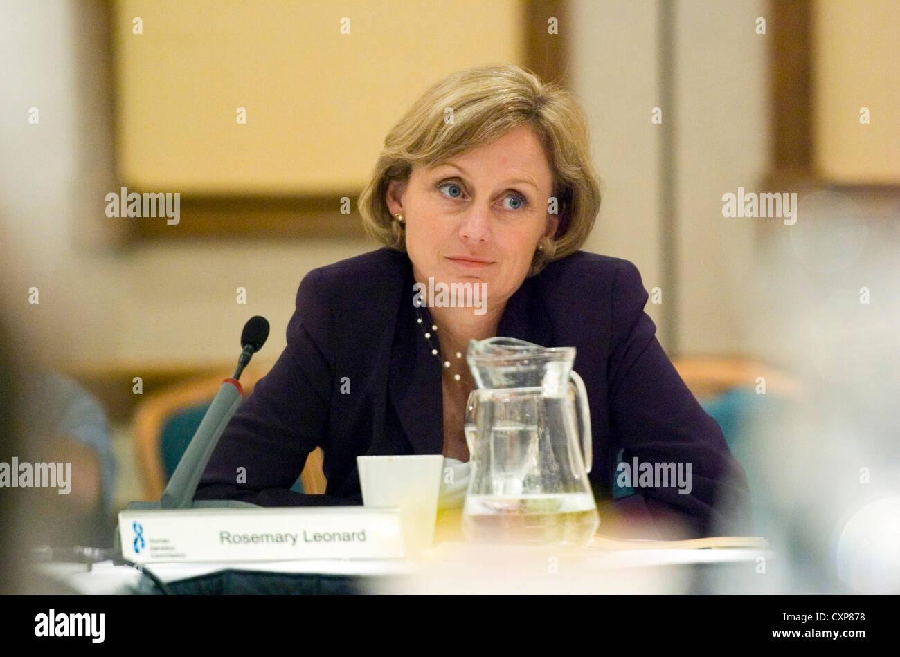 Dr Rosemary Leonard, resident GP on BBC1's Breakfast News. - Stock Image