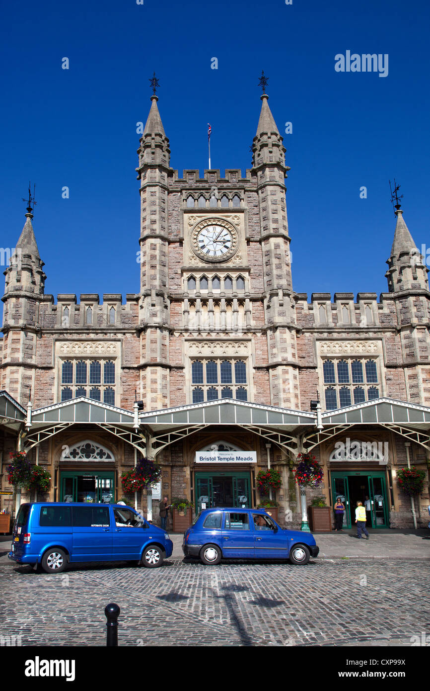 Temple Meads Railway Station Bristol Stock Photo