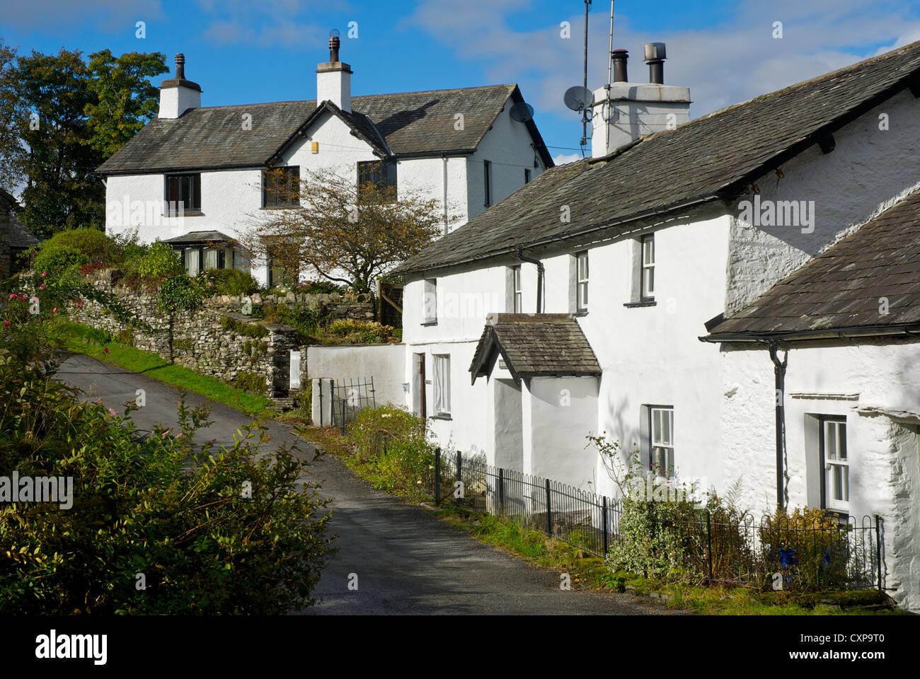 Skelwith Fold, South Lakeland, Lake District National Park, Cumbria, England UK - Stock Image