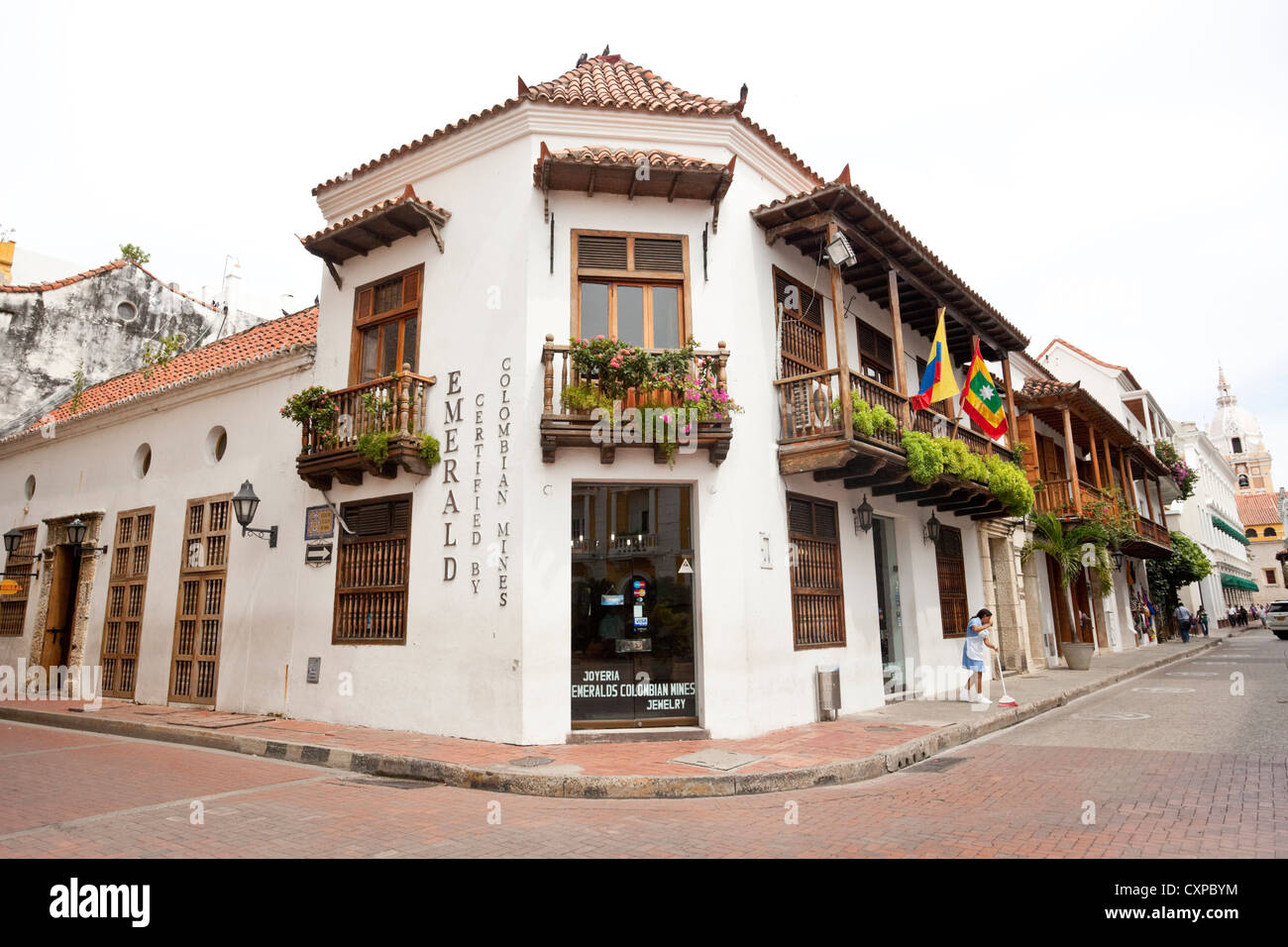 Spanish colonial architecture cartagena de indias colombia