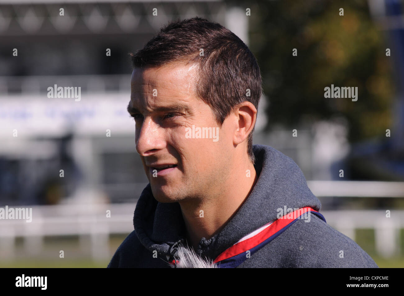 Bear Grylls, Chief Scout Adventurer and family man!  Host of Man Vs Wild,  Born Survivor & Ultimate Survival - Stock Image