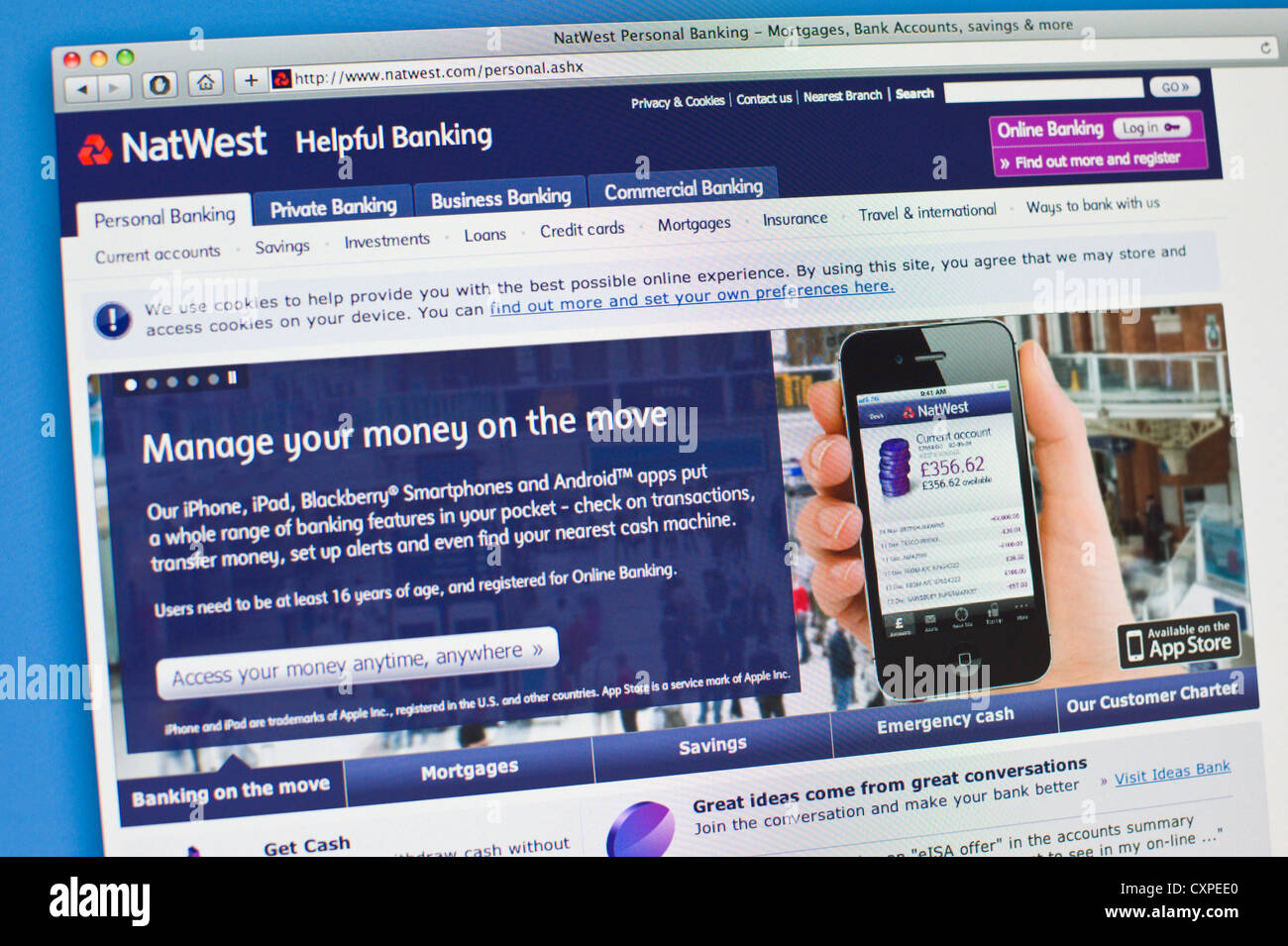 Natwest Online Banking Stock Photos & Natwest Online Banking Stock ...