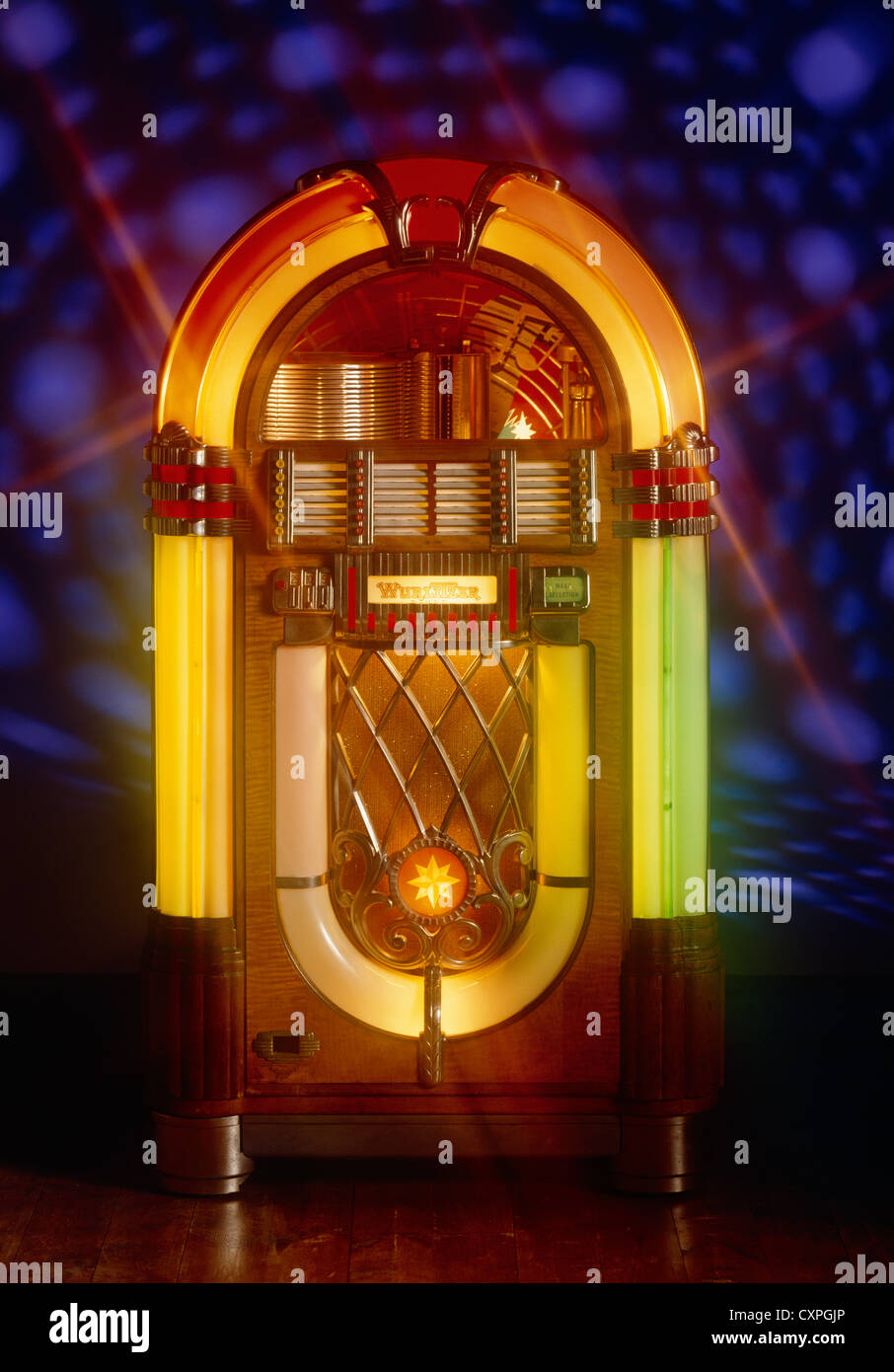 Jukebox old music player Stock Photo: 50897806 - Alamy