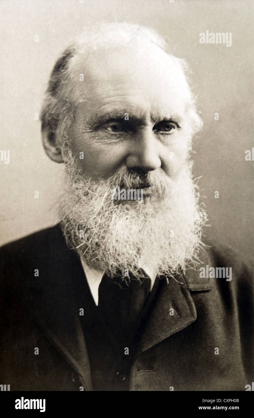 Lord Kelvin, William Thomson (1824-1907) - Stock Image