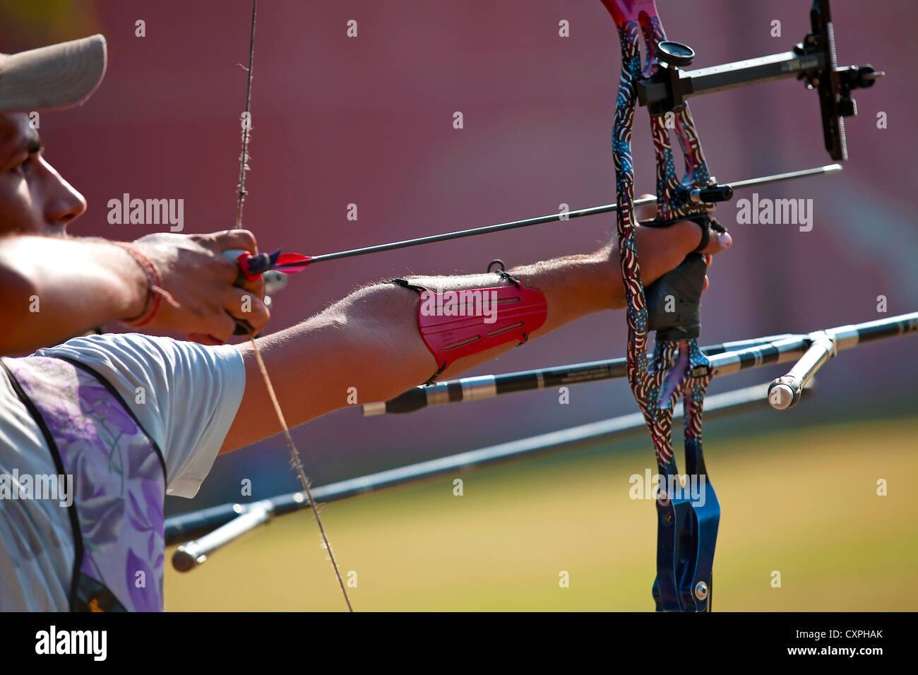 Archery Competition - Stock Image