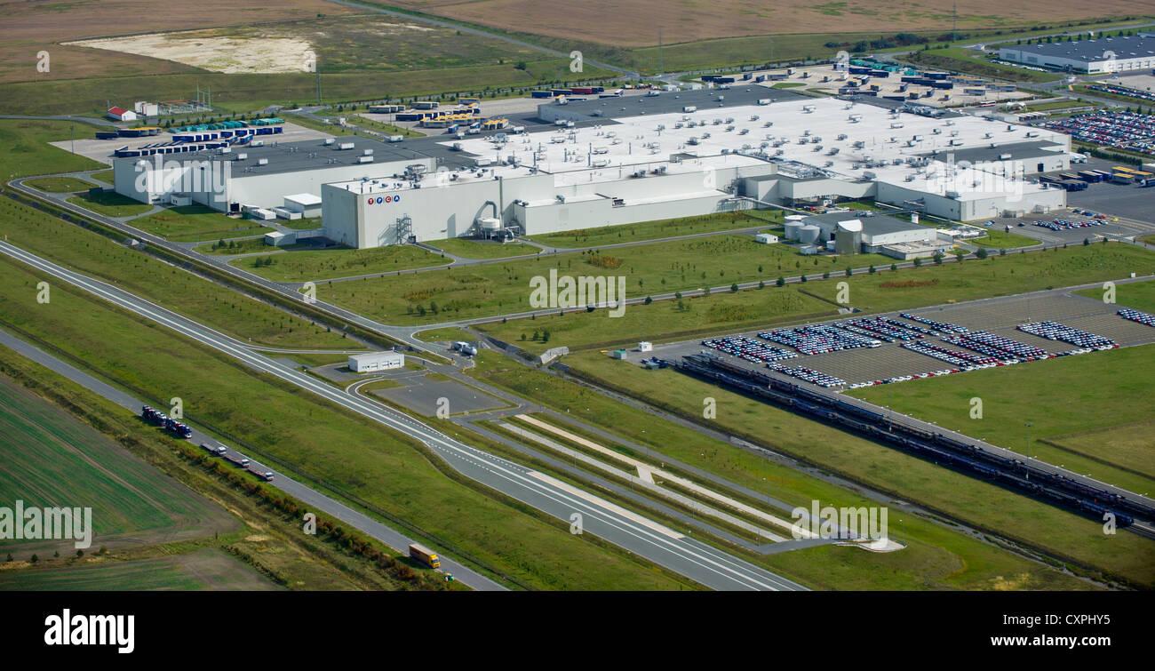 Toyota Peugeot Citroen Automobile (TPCA) plant in Kolin, Czech Republic on September 26, 2012. (CTK Photo/Vit Simanek) Stock Photo