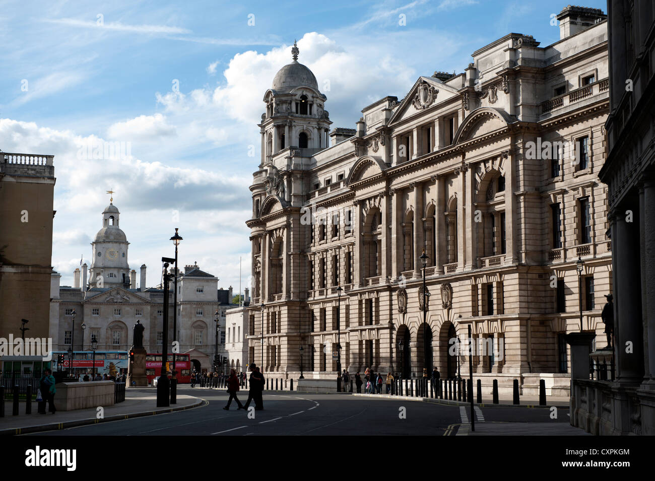 Government Buildings In Westminster London EnglandUK Thje Old War Office On The Right And Horse Guards Left