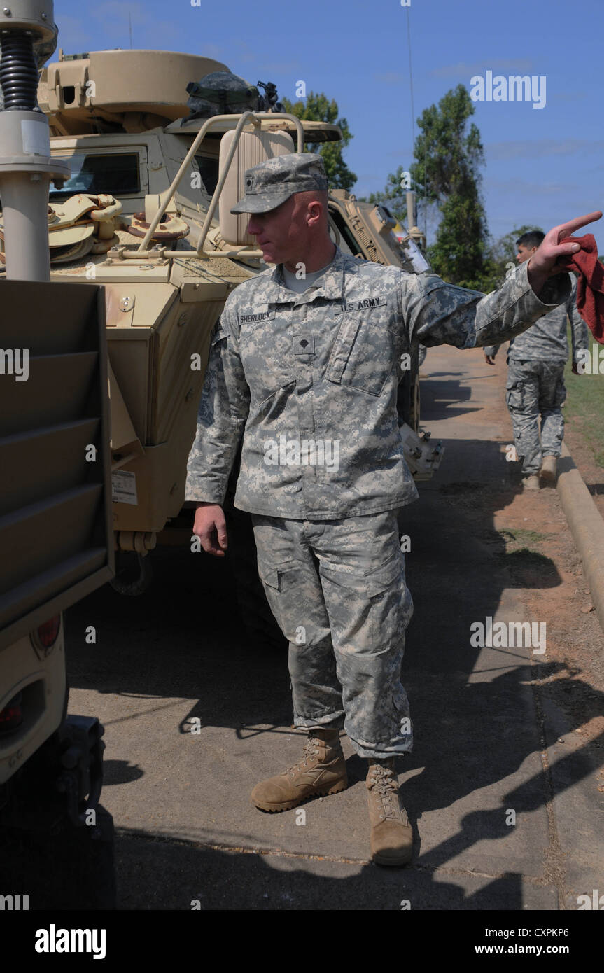 spc patrick sherlock a generator mechanic with 659th maintenance company 264th combat sustainment