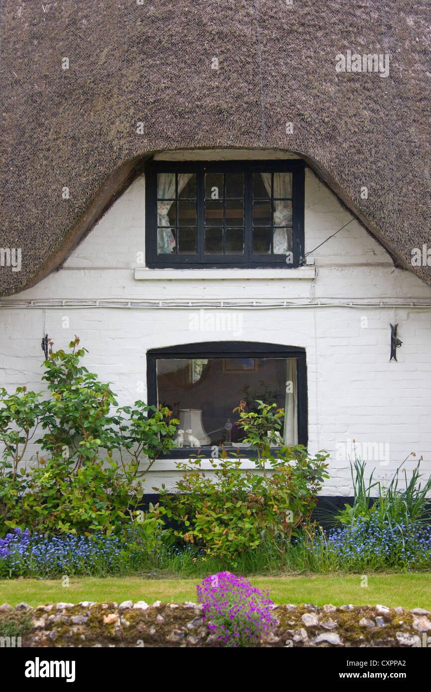 Farm house, Andover, Hampshire, United Kingdom - Stock Image