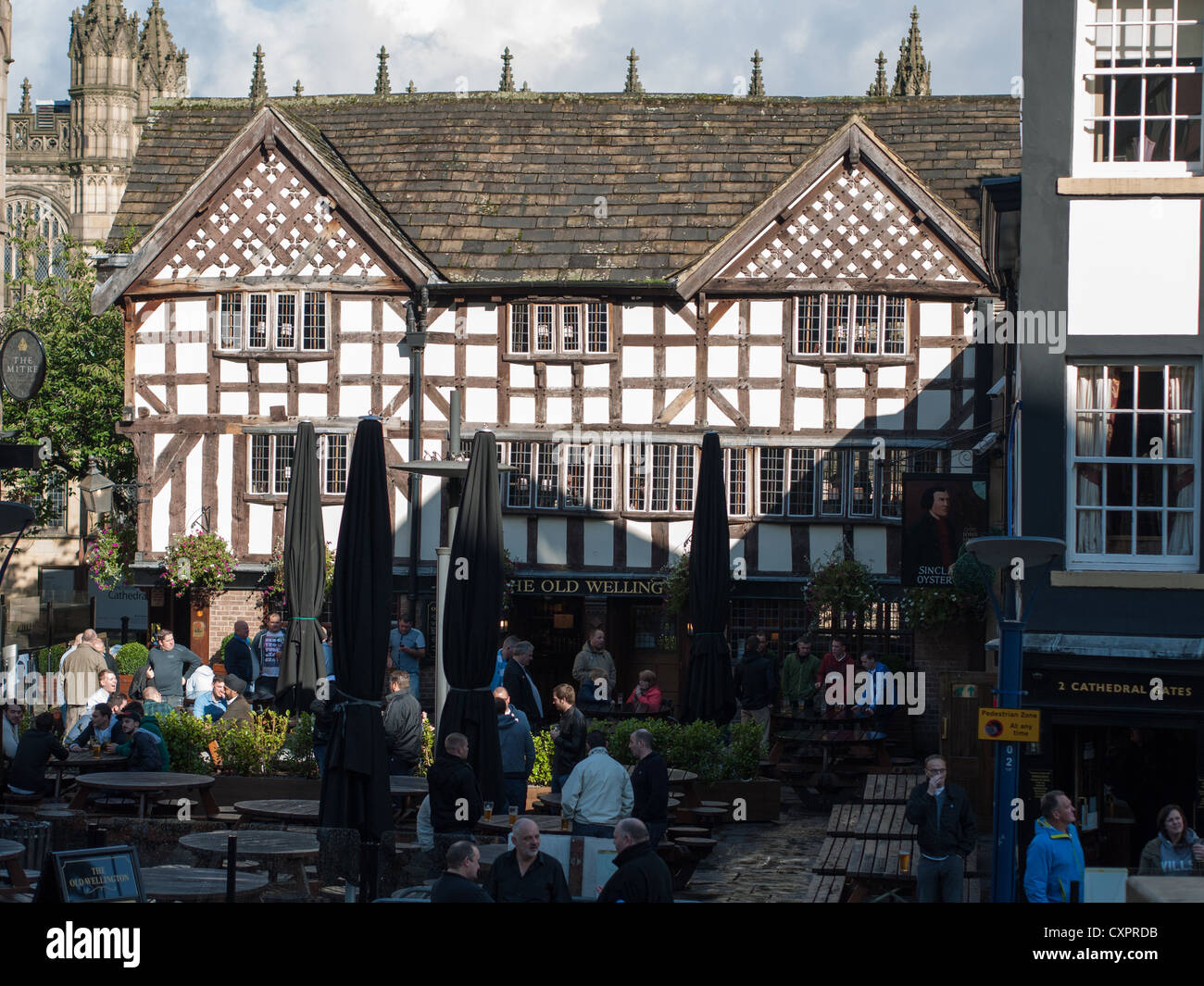 Sinclair's Oyster Bar, Shambles, Manchester Stock Photo