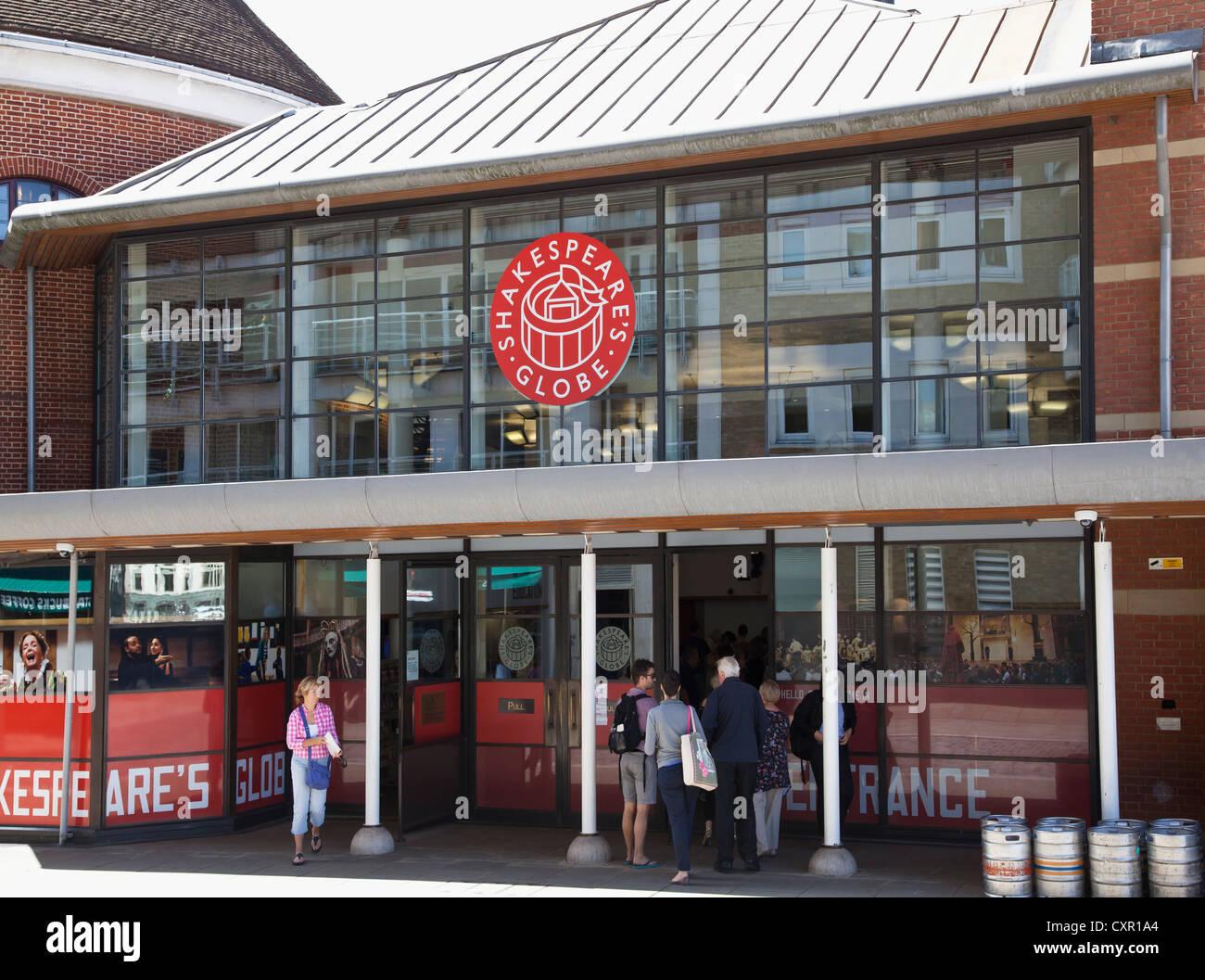 Shakespeare's Globe Theatre - Stock Image