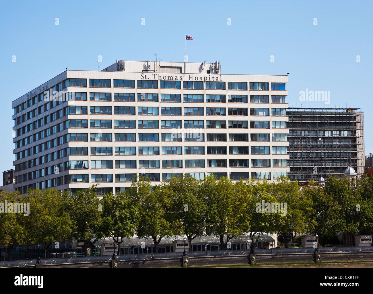 St. Thomas' Hospital - Stock Image