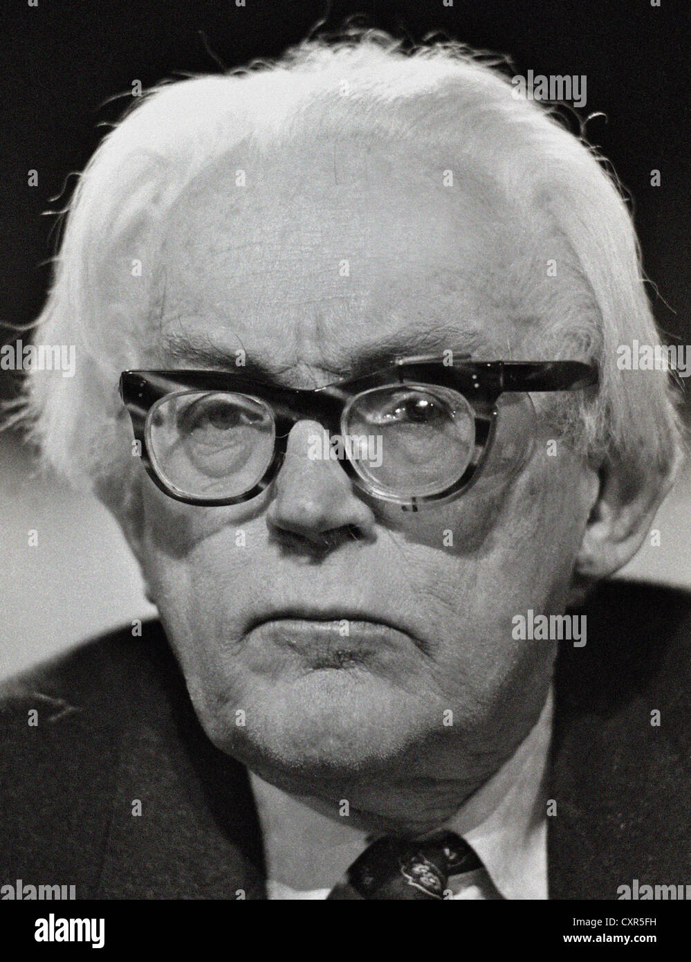 Michael Mackintosh Foot (born 23 July 1913) is a British politician and writer. He was leader of the Labour Party - Stock Image