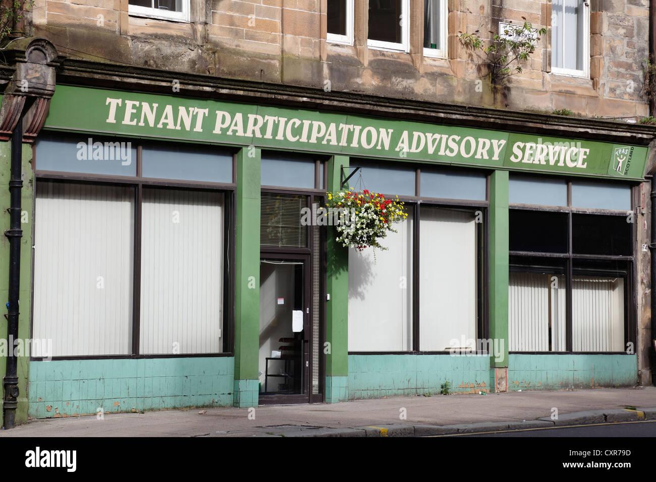National Tenant and Landlord Participation Advisory service for Scotland, Glasgow, Scotland, UK - Stock Image