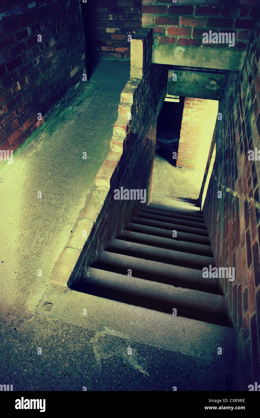grunge stairs Stock Photo