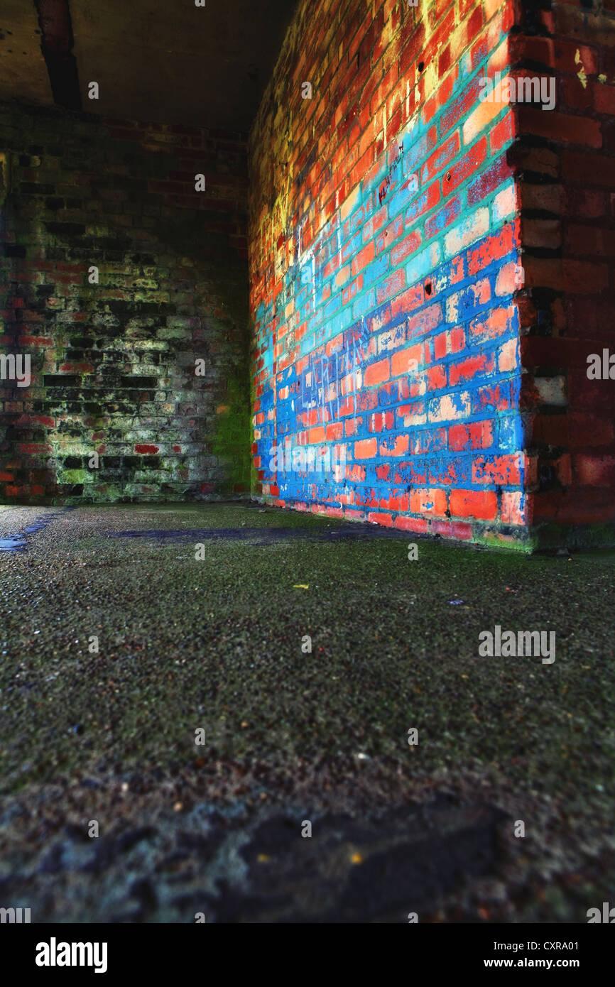 brick walls - Stock Image