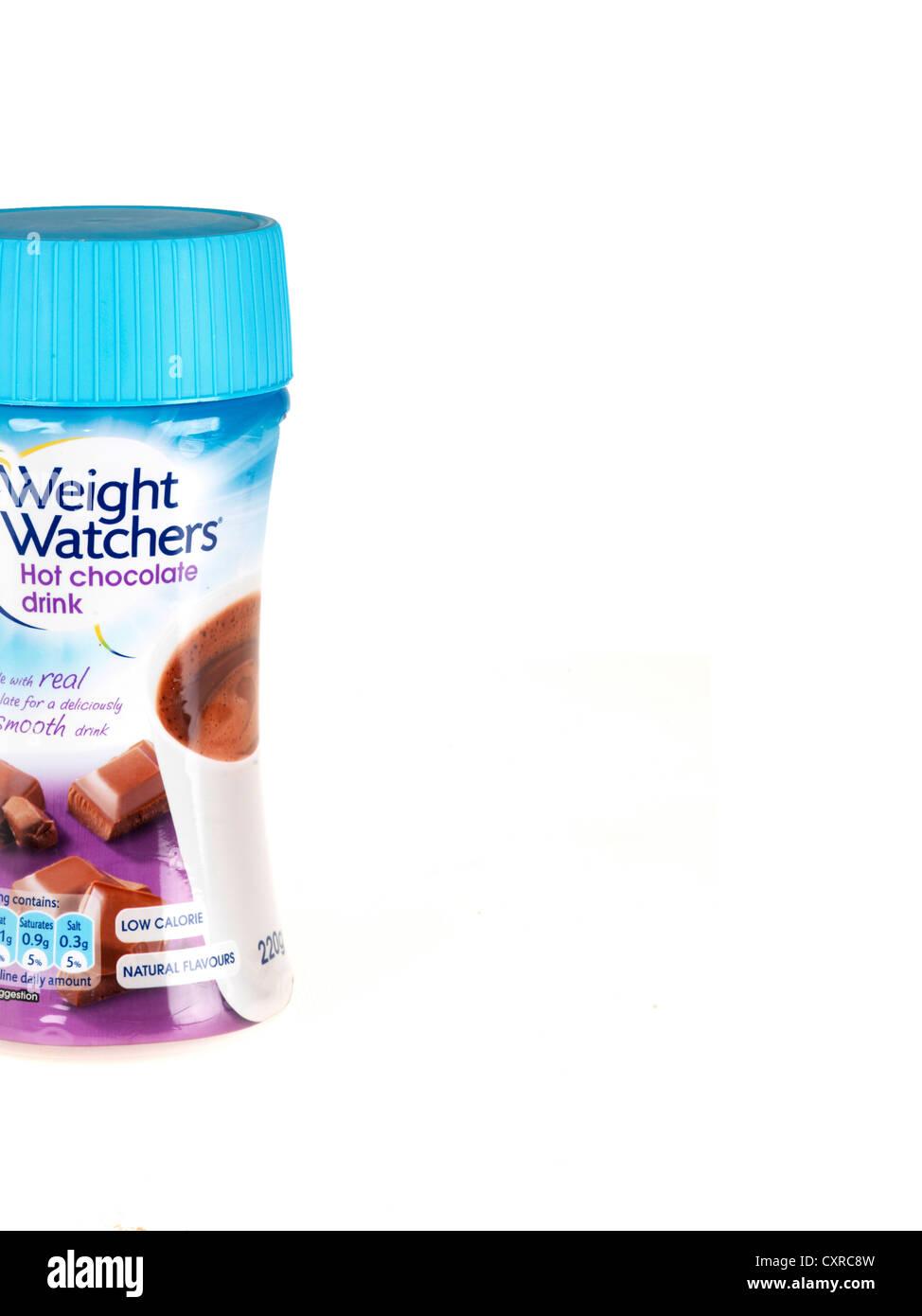 Weight Watchers Hot Chocolate - Stock Image