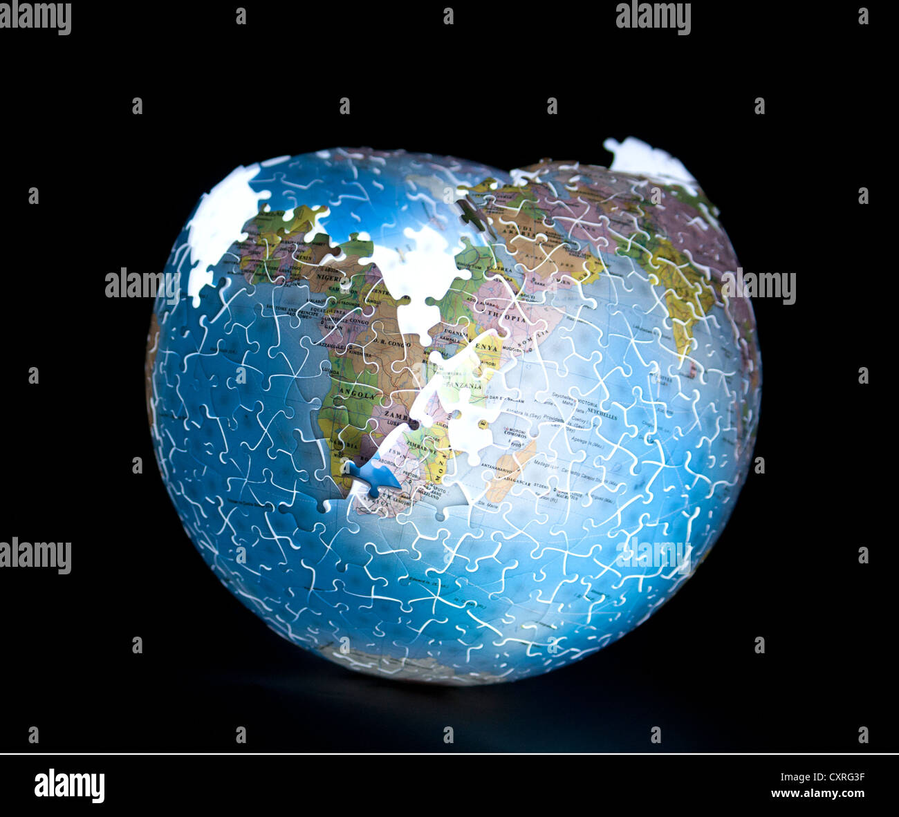 Plate Tectonics Globe High Resolution Stock Photography And Images Alamy