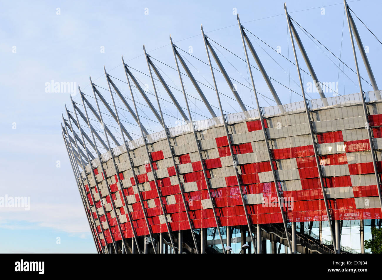 Stadion Narodowy - The National Stadium, Warsaw, Poland - Stock Image