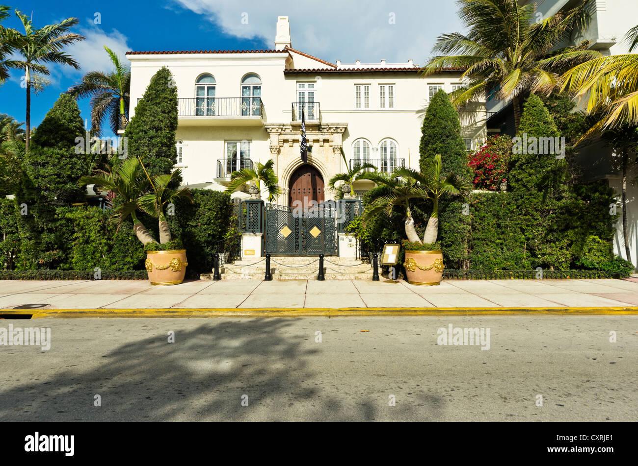 Casa Casuarina, Versace Mansion, Ocean Drive, South Beach, Art Deco district, Miami Beach, Florida, USA - Stock Image