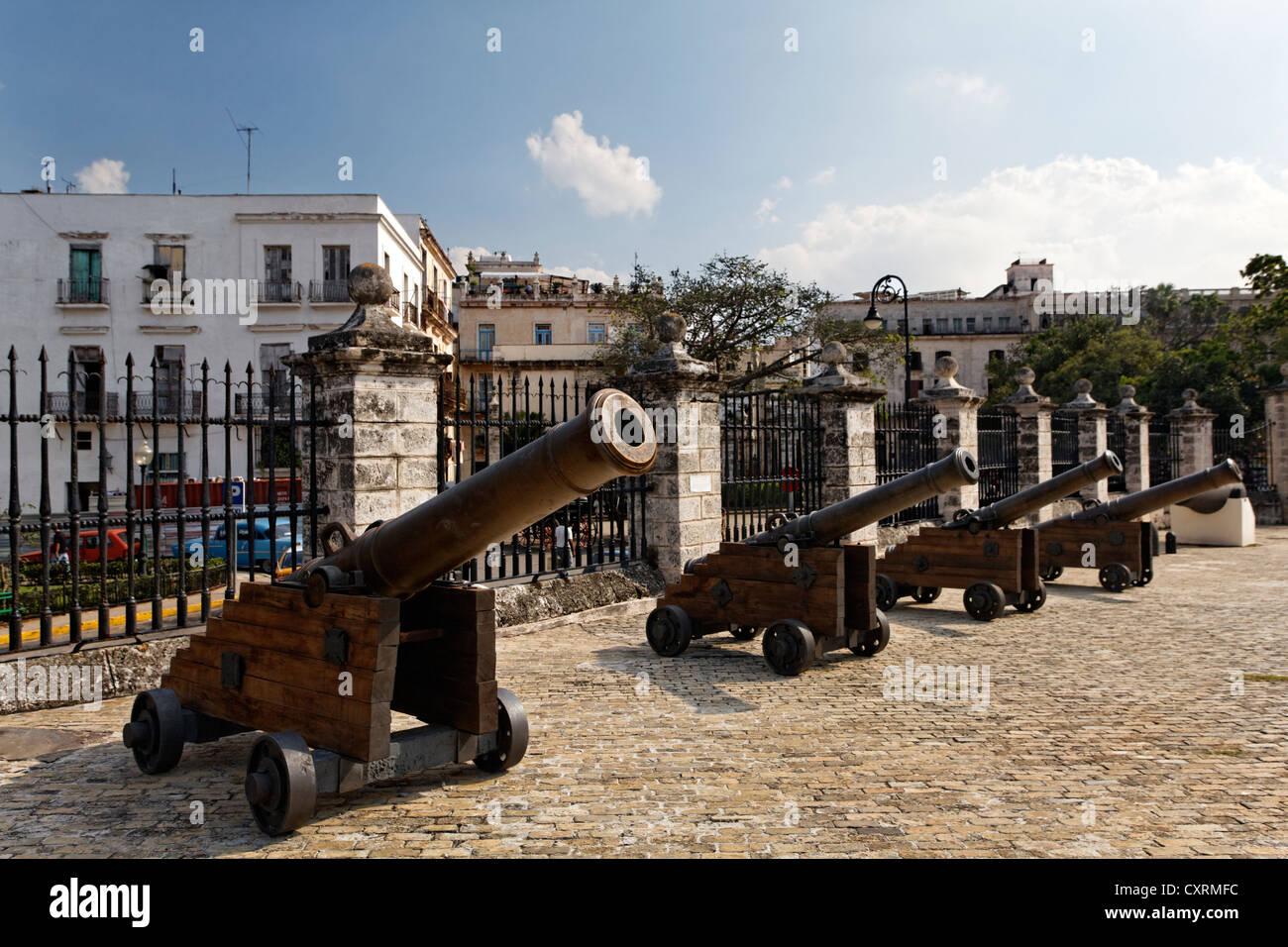 Cannon, Castillo de la Real Fuerza, Spanish fortress, O