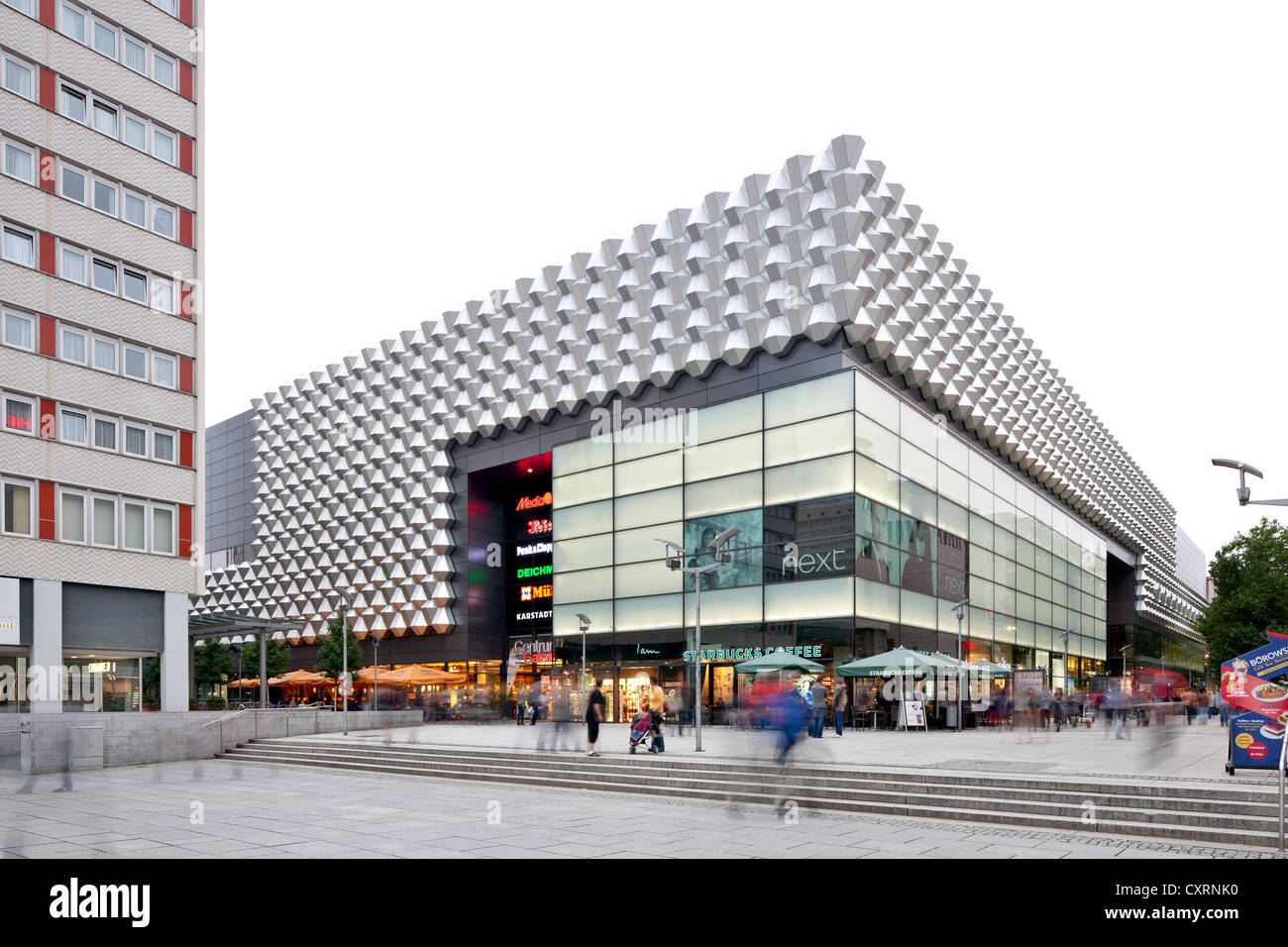 Centrum department store, Centrum Galerie shopping center, Saxony, Germany, Europe, PublicGround Stock Photo