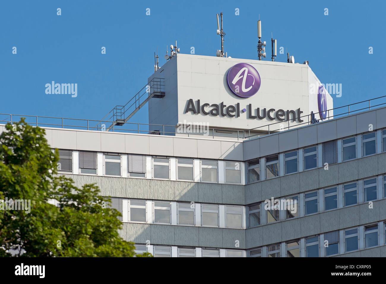 Alcatel-Lucent company headquarters, Stuttgart-Zuffenhausen, Baden-Wuerttemberg, Germany, Europe - Stock Image