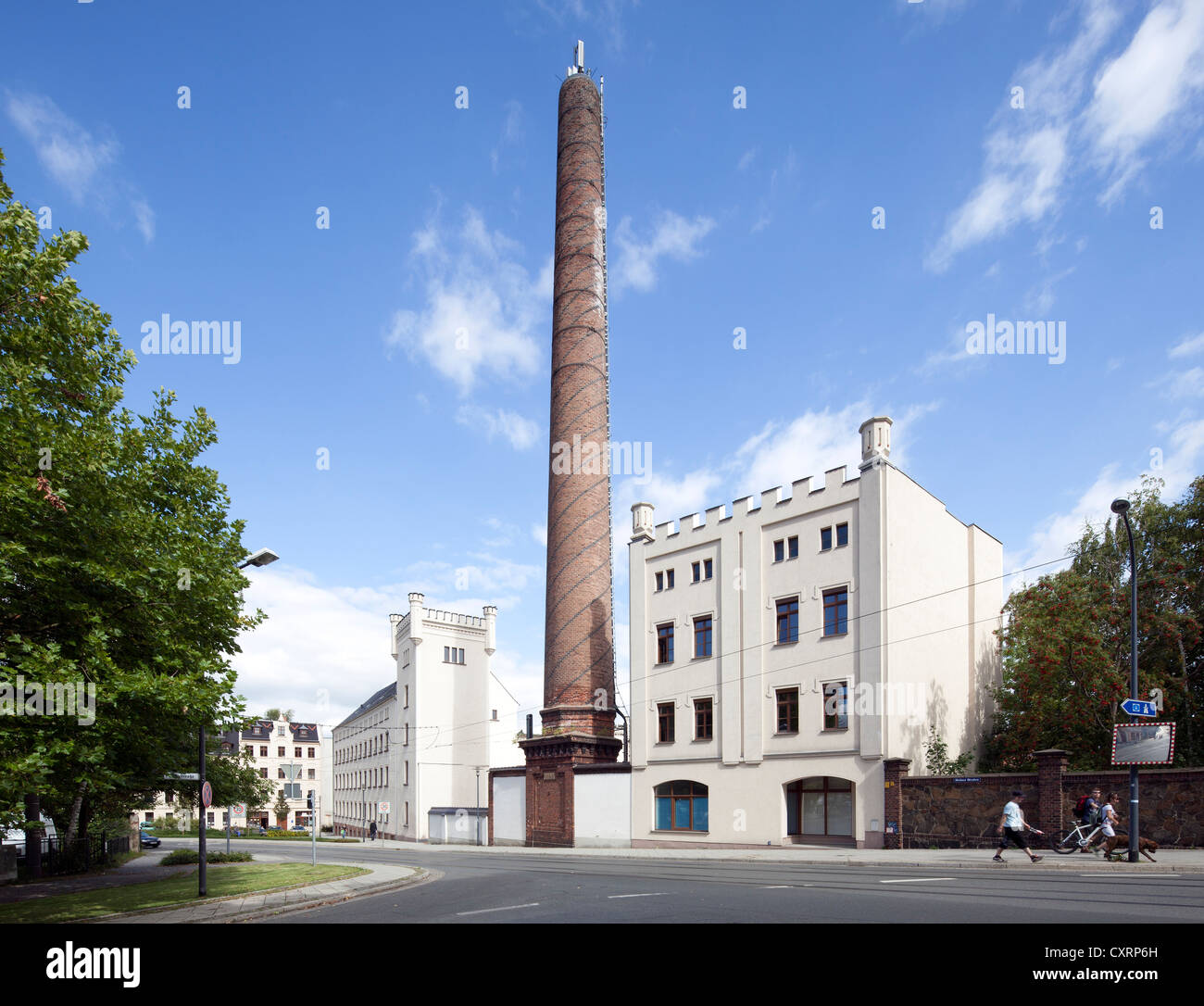 Agentur fuer Arbeit, Employment Agency, former factory, Goerlitz, Upper Lusatia, Lusatia, Saxony, Germany, Europe, - Stock Image