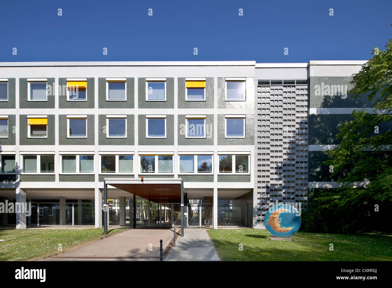 Hessian Ministry of Finance, Wiesbaden, Hesse, Germany, Europe, PublicGround - Stock Image