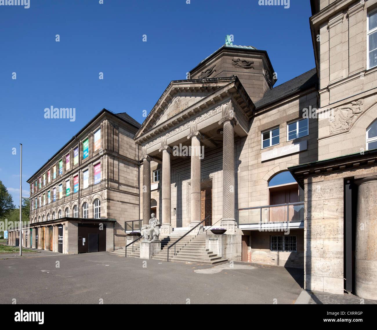 Wiesbaden Museum, Hessian State Museum, Wiesbaden, Hesse, Germany, Europe, PublicGround - Stock Image