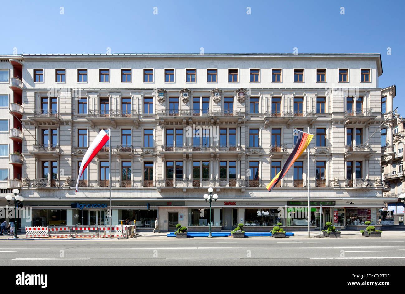 Offices And Commercial Properties On Wilhelmstrasse Nicknamed Rue
