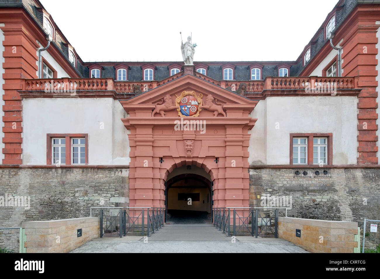 Former Citadel of Mainz, Department of Urban Planning, Mainz, Rhineland-Palatinate, Germany, Europe, PublicGround - Stock Image