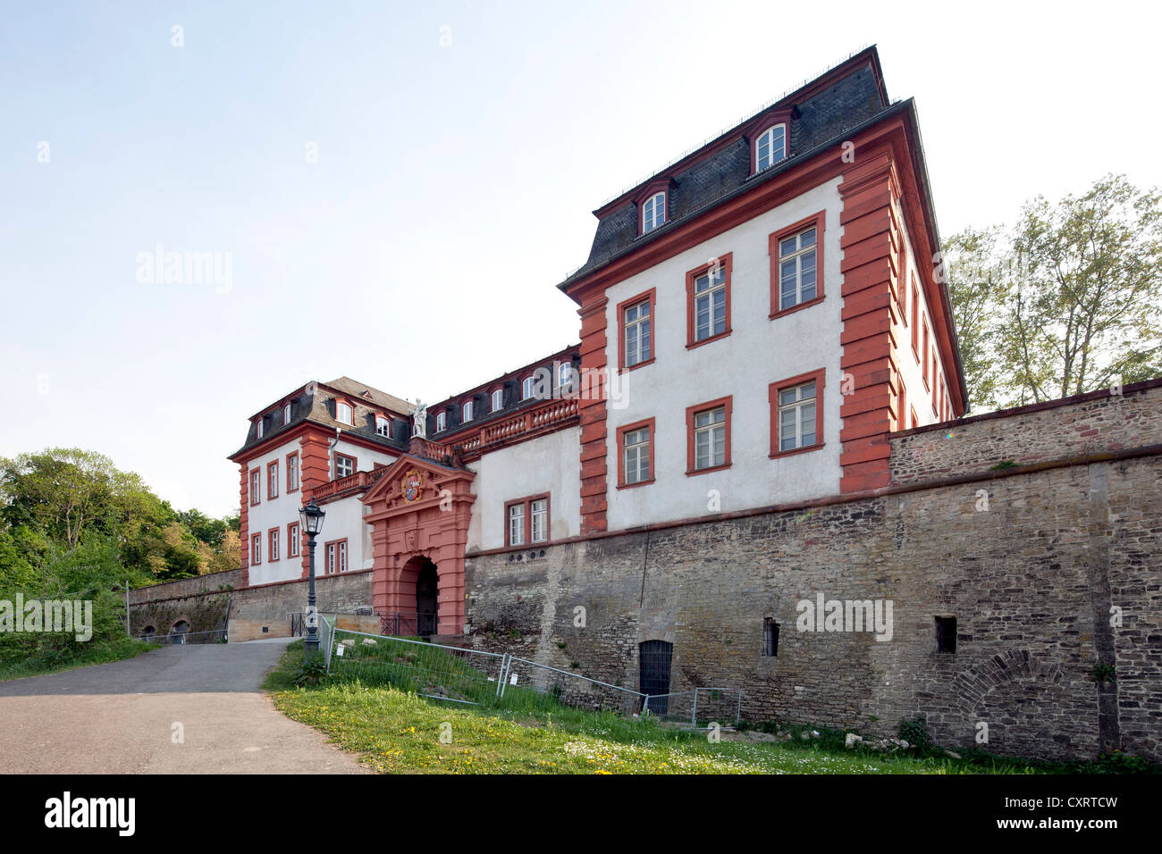 Former Citadel of Mainz, Department of Urban Planning, Mainz, Rhineland-Palatinate, Germany, Europe, PublicGround Stock Photo