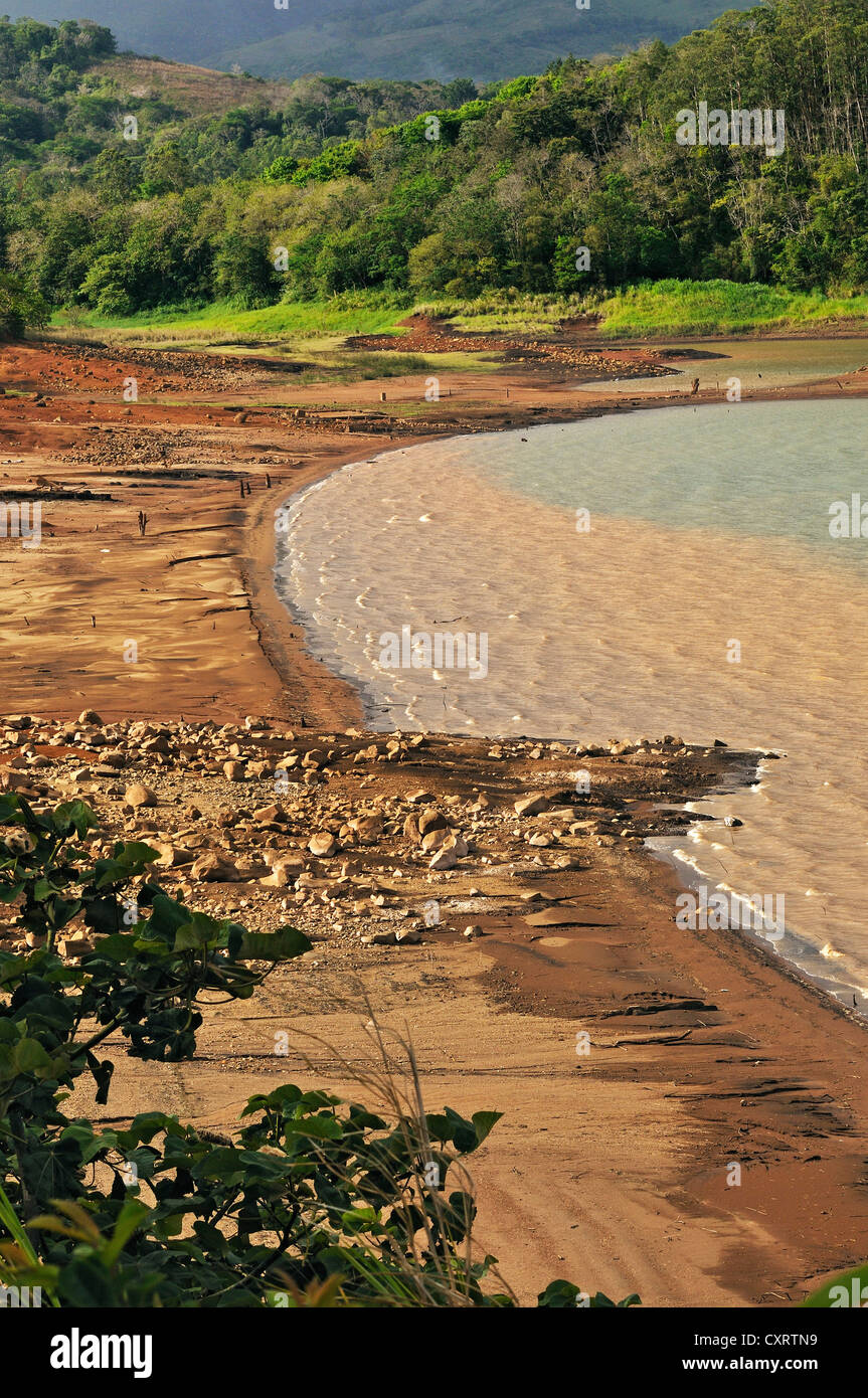 Lake Arenal, western shore, Alajuela province, Costa Rica, Central America - Stock Image