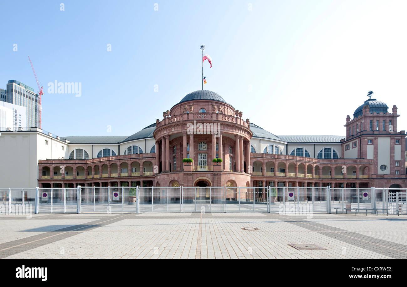 Festhalle Frankfurt, event, convention and exhibition hall, Messe Frankfurt trade fair site, Frankfurt am Main, Stock Photo