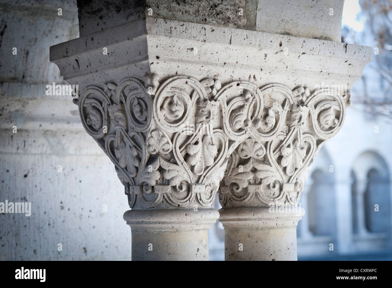 romanesque pillar capital stock photos romanesque pillar capital