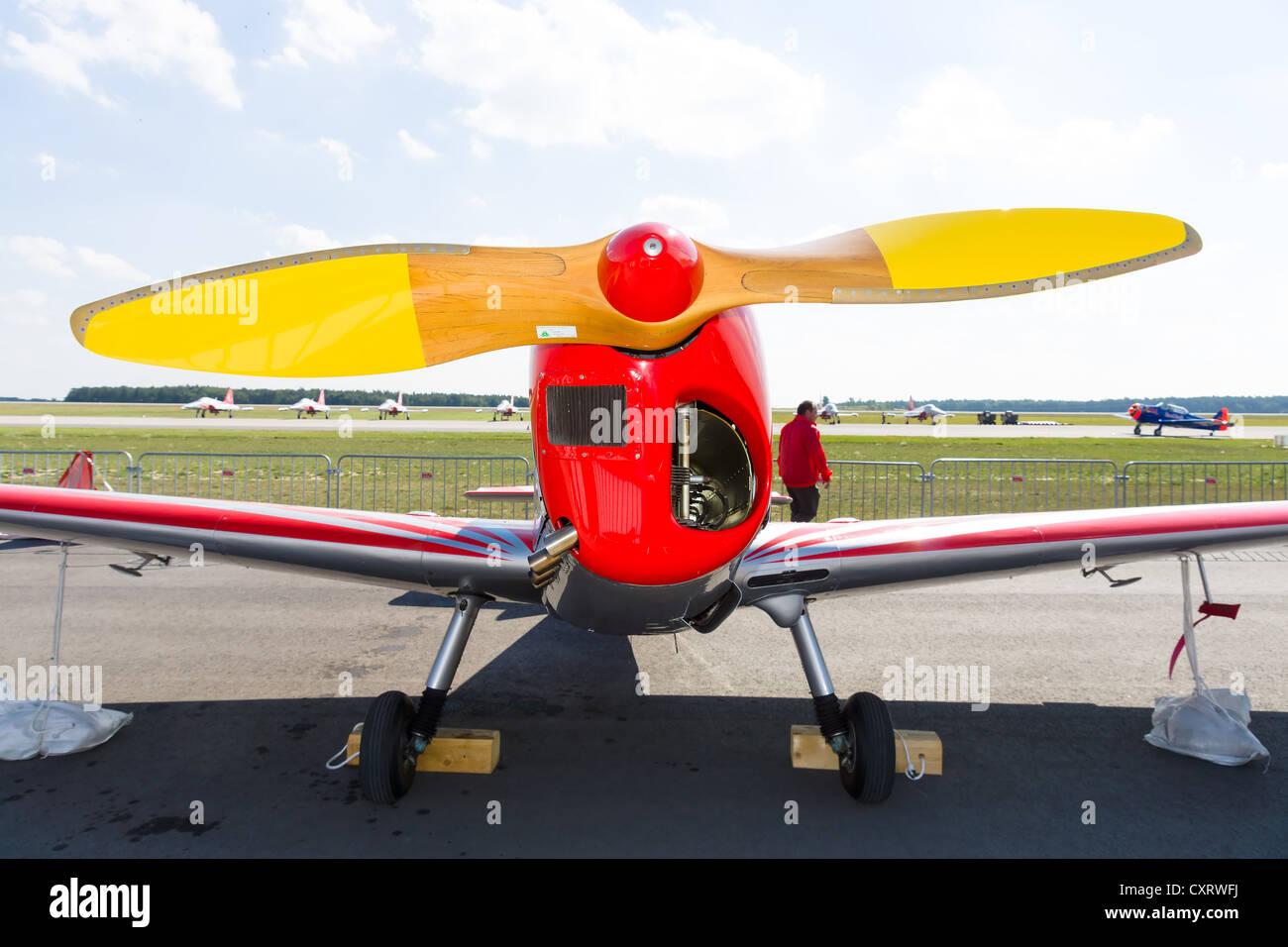 Training aircraft Zlin Z226 Trener - Stock Image