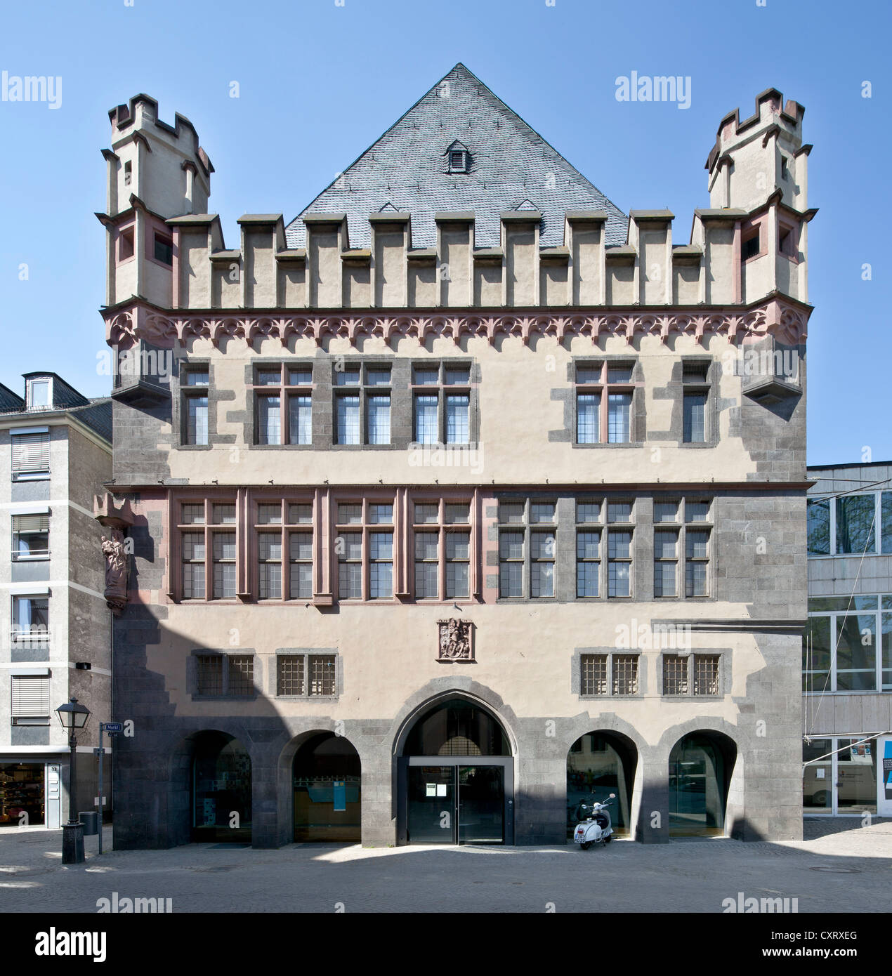 Steinernes Haus Building Also Known As Haus Bornfleck Frankfurt Am