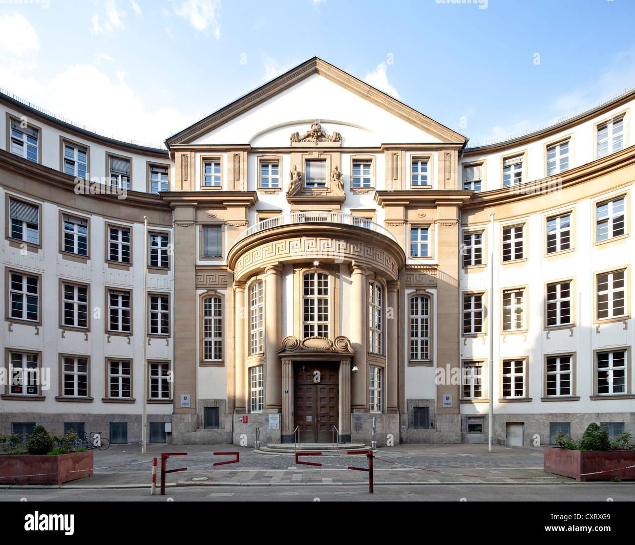 Frankfurt Palace of Justice, Building B, Higher Regional