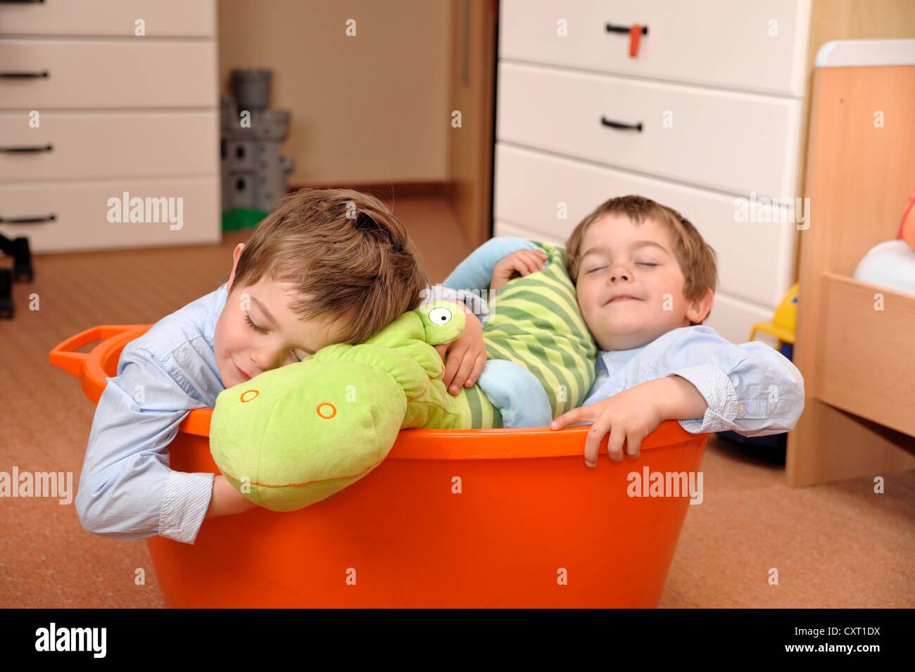 Three Boys In Bathtub Stock Photos & Three Boys In Bathtub Stock ...