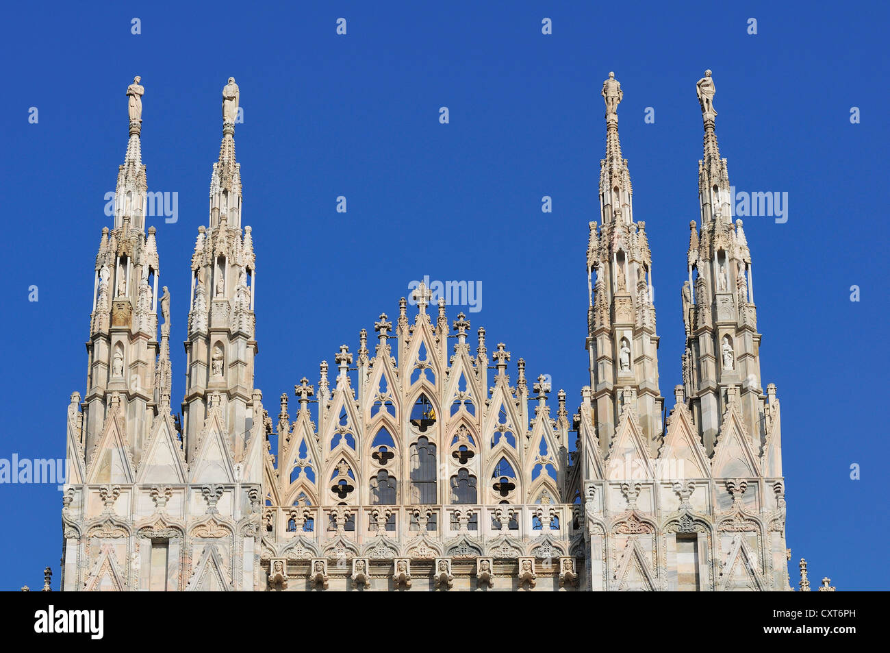Milan Cathedral, Milan, Lombardy, Italy, Europe - Stock Image