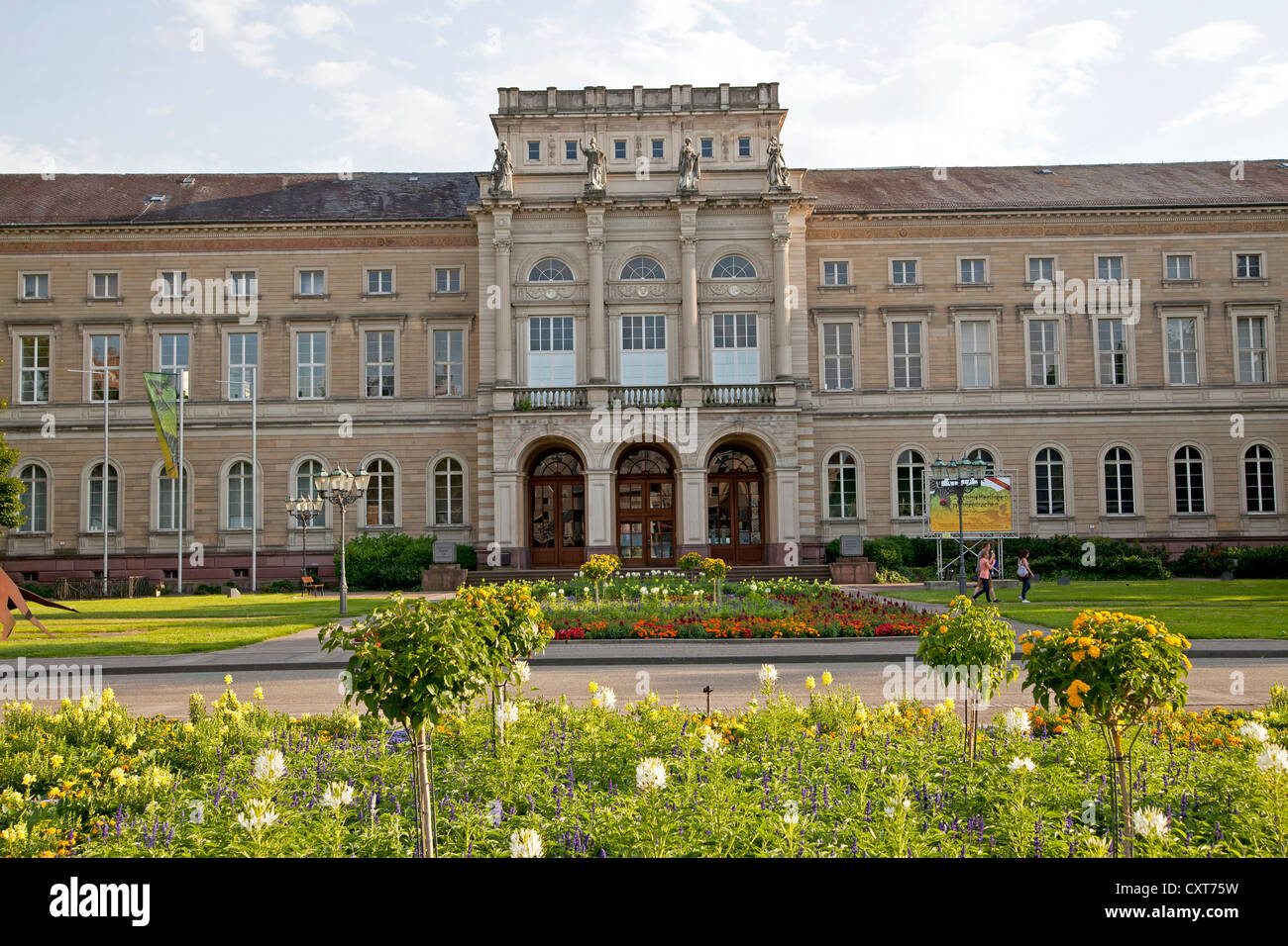 State Museum of Natural History, Karlsruhe, Baden-Wuerttemberg - Stock Image