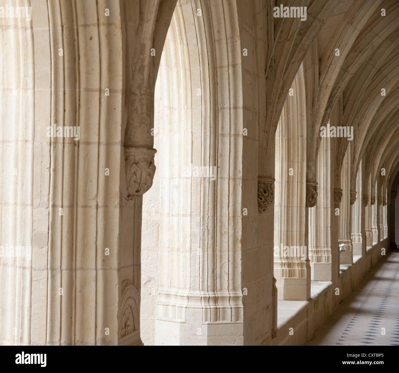 Fontevrault Abbey, France Stock Photo