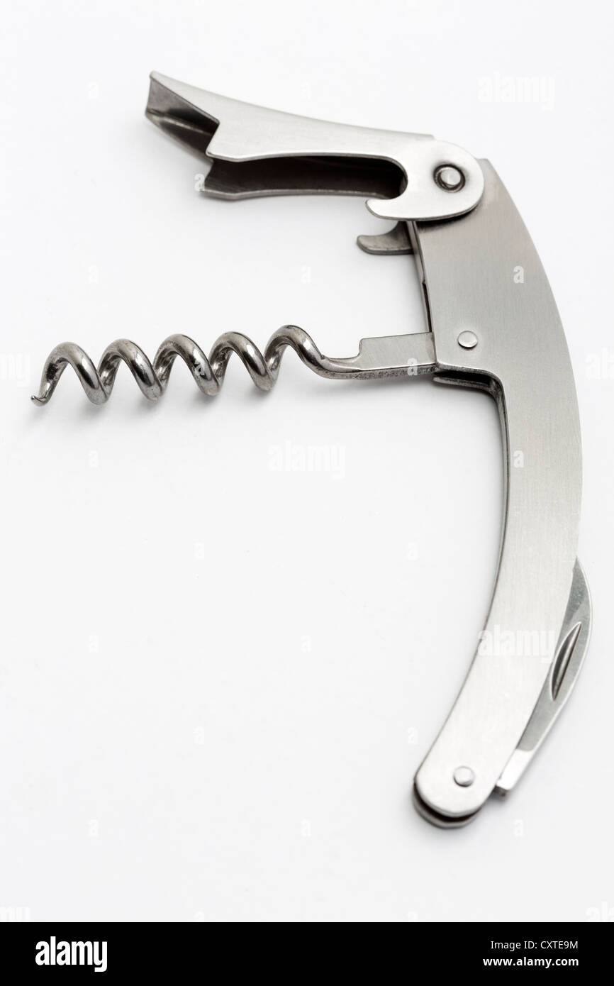 Corkscrew waiters mate - Stock Image